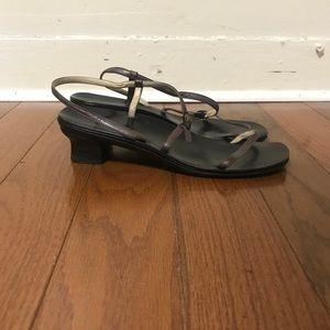 Jil Sander sling back sandals size 39.5